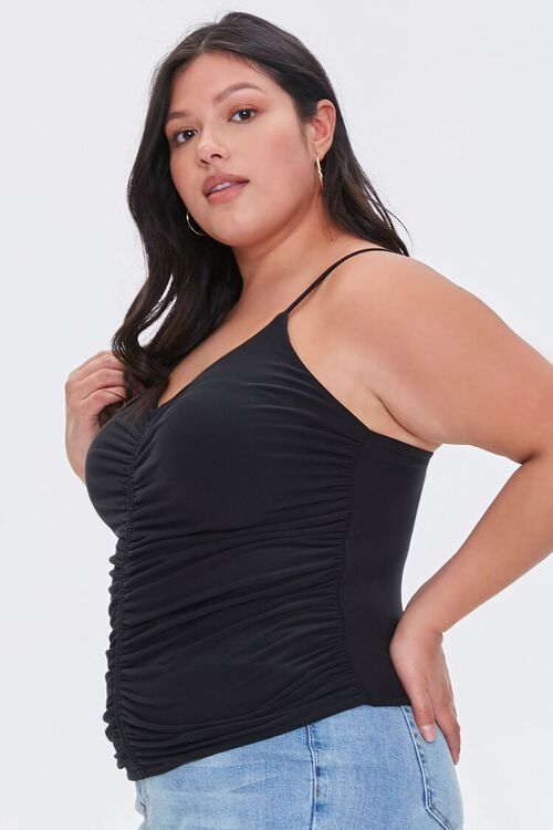 Plus Size Ruched Cami, image 2