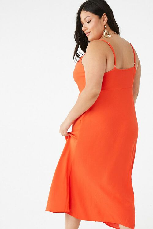 Plus Size Cowl Neck Midi Dress, image 3