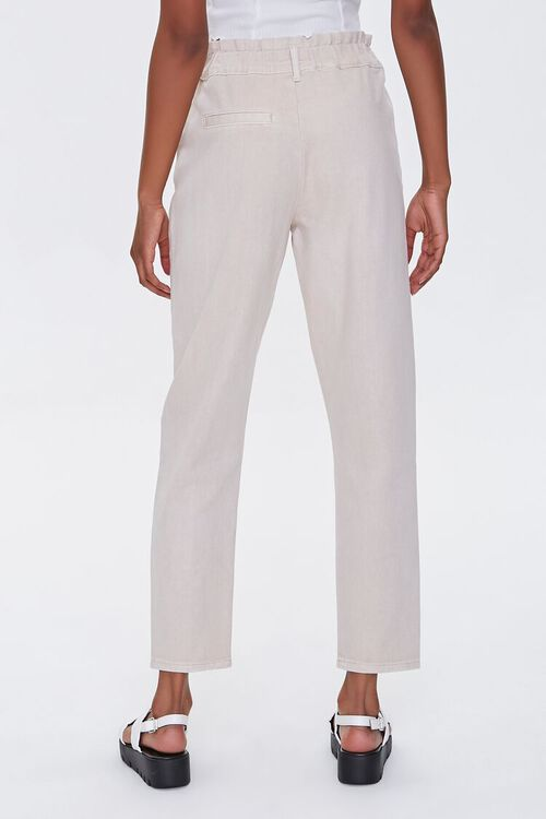Paperbag Straight Jeans, image 4