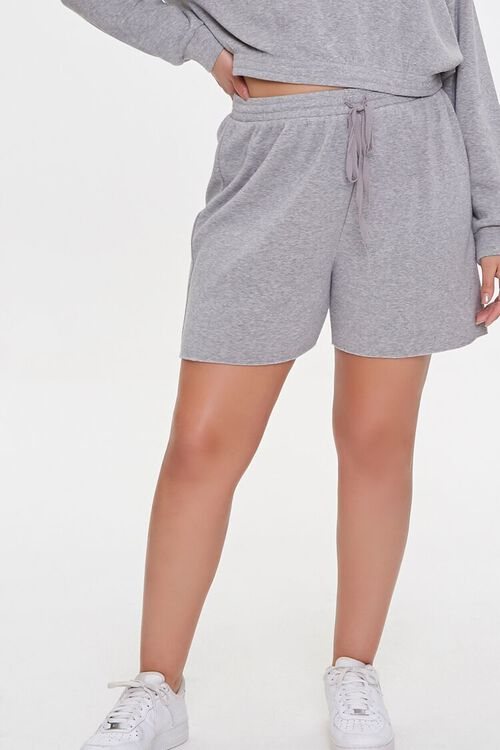 Plus Size Sweatshirt & Shorts Set, image 6