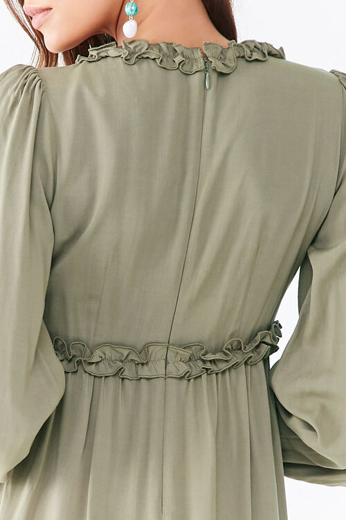 Ruffle-Trim Mini Dress, image 5