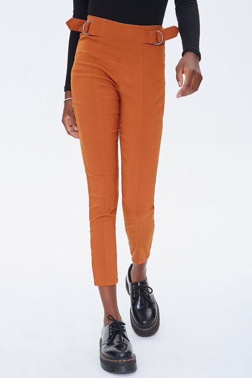 Skinny Waist-Tab Ankle Pants, image 2