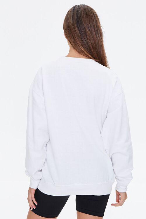WHITE/MULTI Nissin Top Ramen Graphic Pullover, image 3