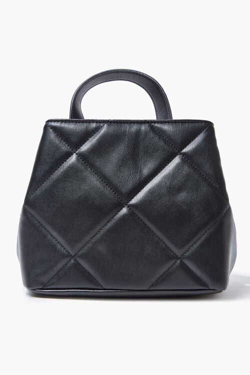 Studded Quilted Satchel, image 3