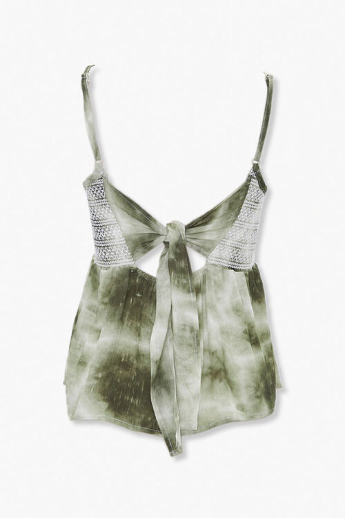 Tie-Dye Topstitched Cami, image 3