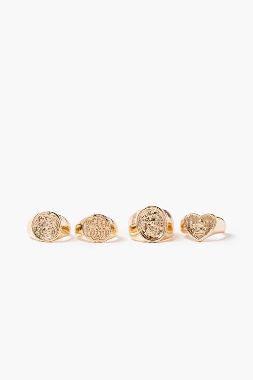 Engraved Ring Set, image 2