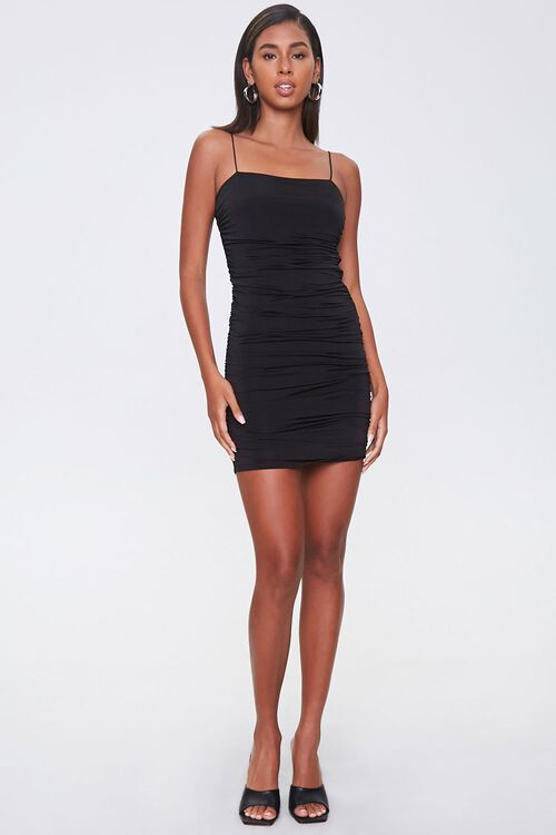 Ruched Bodycon Cami Dress, image 4