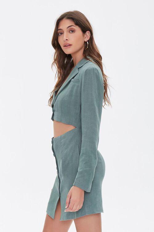 Cutout Blazer Mini Dress, image 2