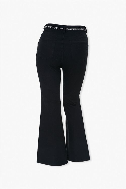 Plus Size Split Flare Jeans, image 3