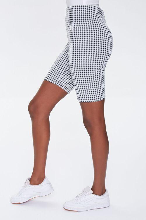 Gingham Biker Shorts, image 3