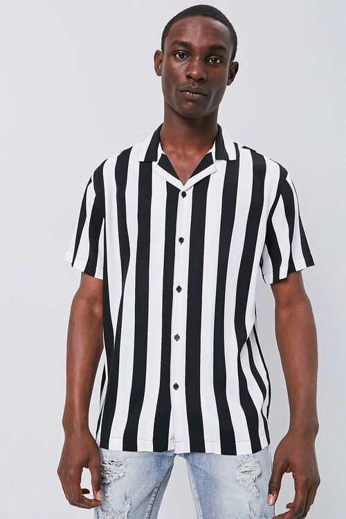 Classic Fit Bold Striped Shirt, image 1
