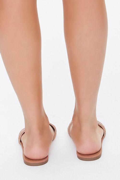 Rhinestone Flat Sandals, image 4