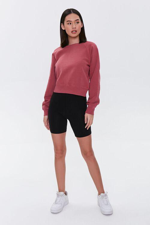 Fleece Raglan Sweatshirt, image 4