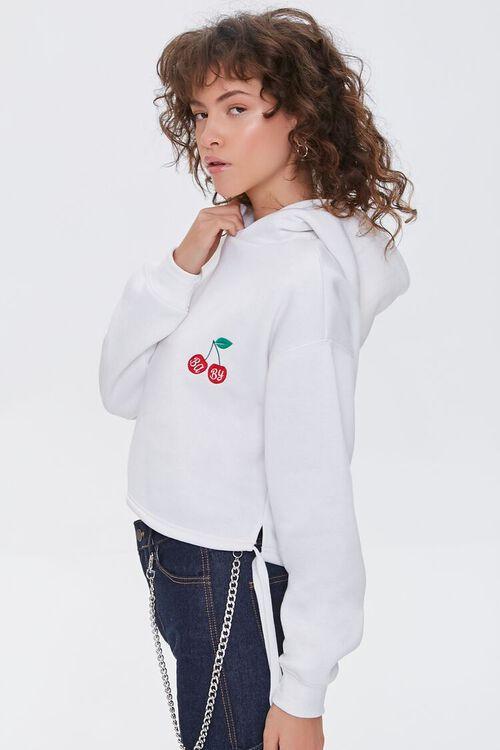 Fleece Baby Cherry Hoodie, image 2