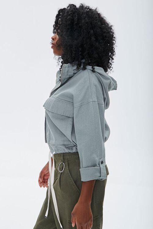 Hooded Zip-Up Jacket, image 2