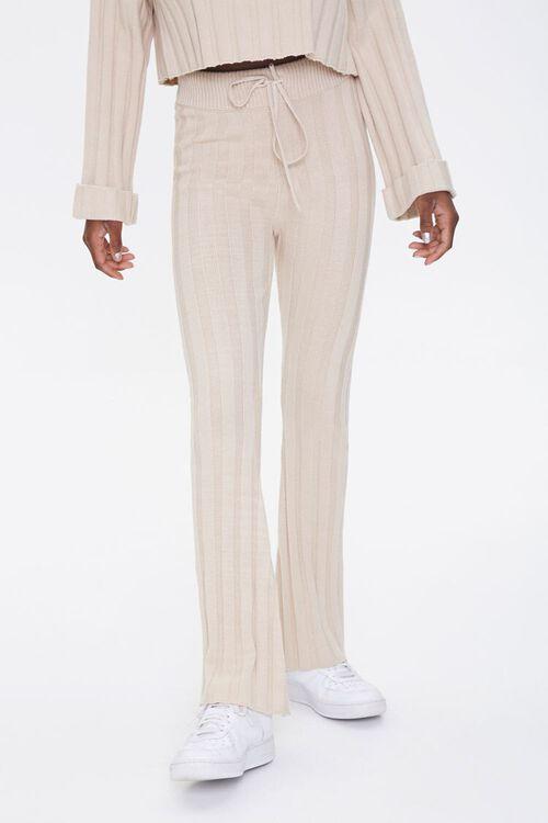 Ribbed Flare Pants, image 2