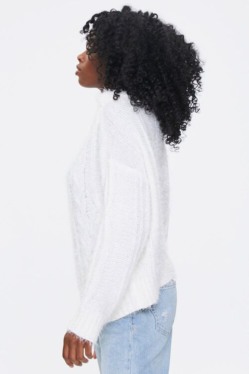Fuzzy Boat Neck Sweater, image 2