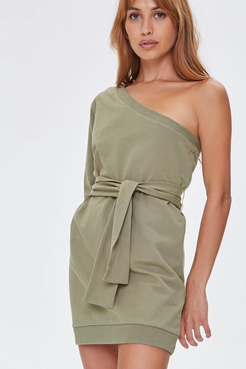 One-Shoulder Mini Dress, image 5