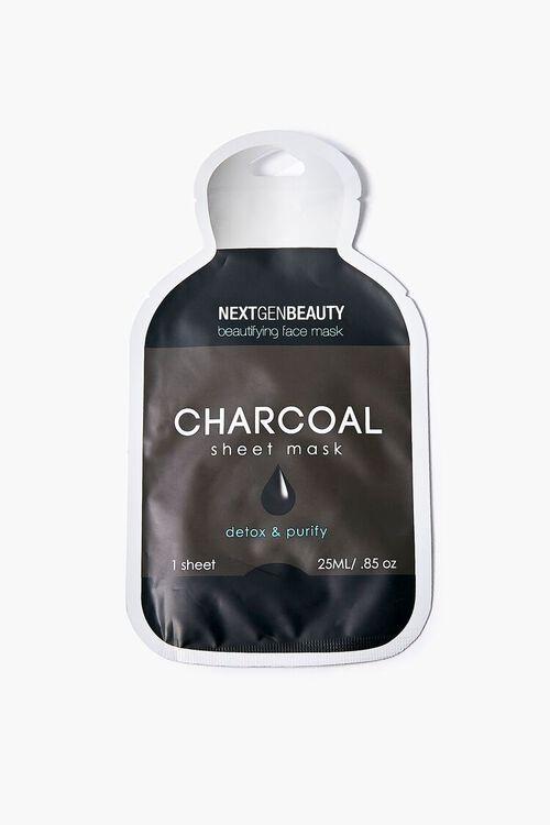 BLACK Charcoal Sheet Mask, image 1