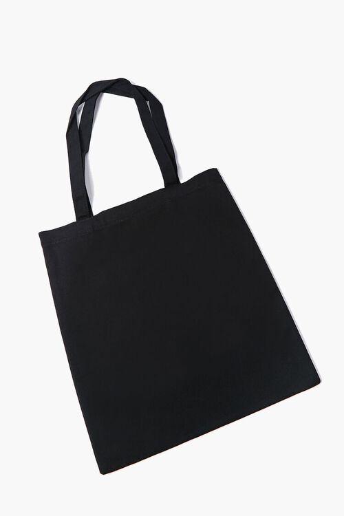 Neon Light Lip Graphic Tote Bag, image 2