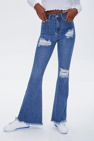 Women S Flare Wide Leg Jeans Women Forever 21