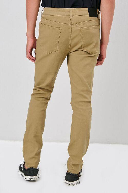 KHAKI Distressed Skinny Jeans, image 4