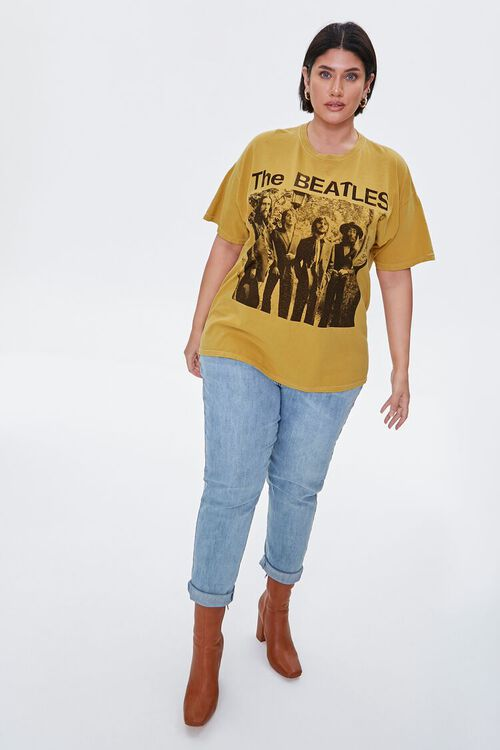 Plus Size The Beatles Graphic Tee, image 4