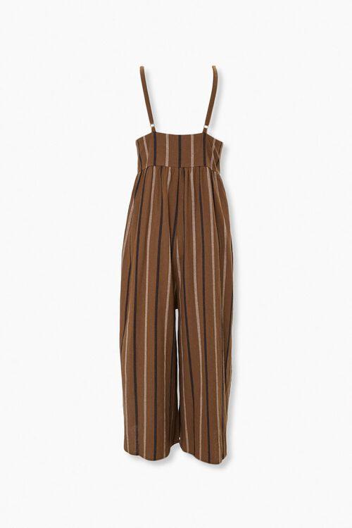 Striped Culotte Jumpsuit, image 3