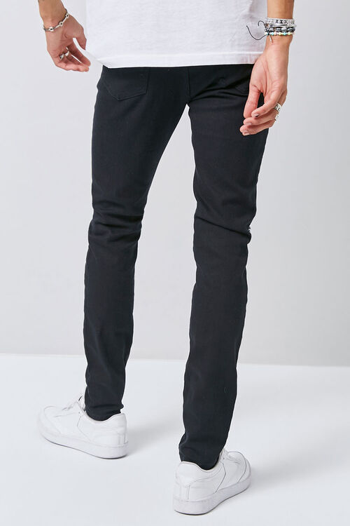 Distressed Slim-Fit Chino Pants, image 4