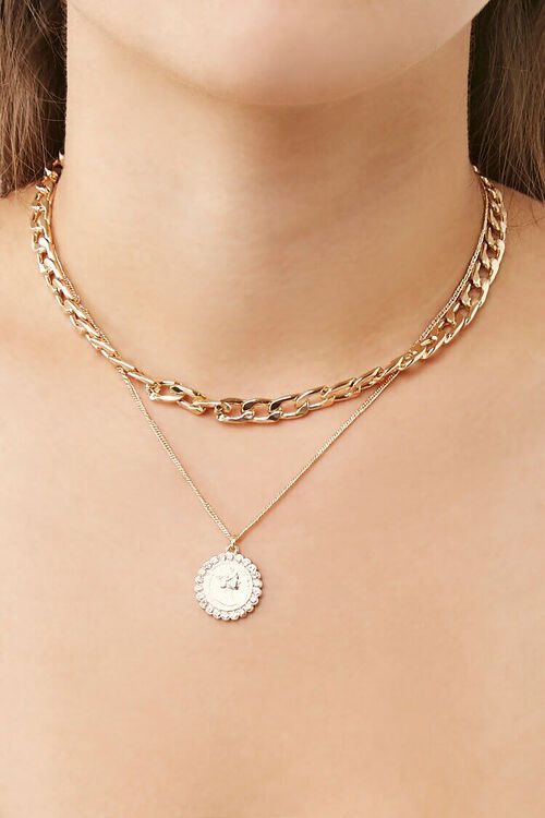 Layered Pendant Necklace, image 2