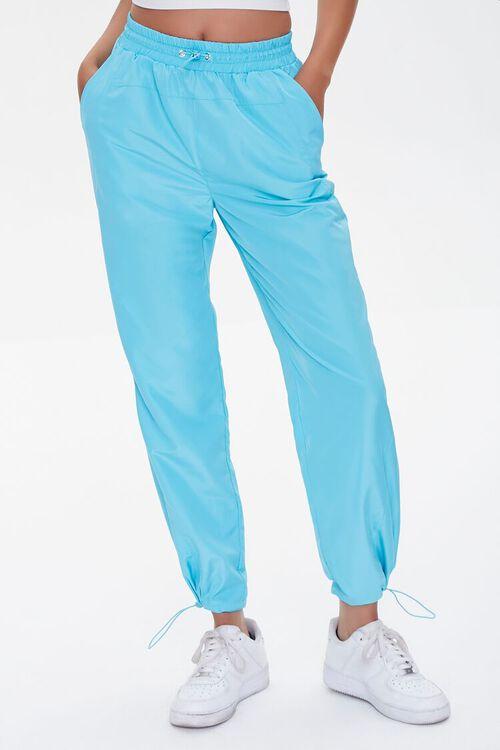 BLUE Toggle Drawstring Joggers, image 2