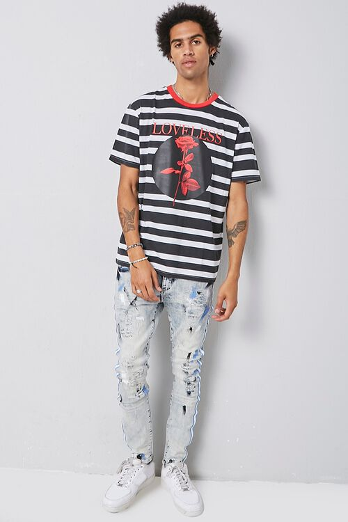 Distressed Bleach Wash Skinny Jeans, image 5