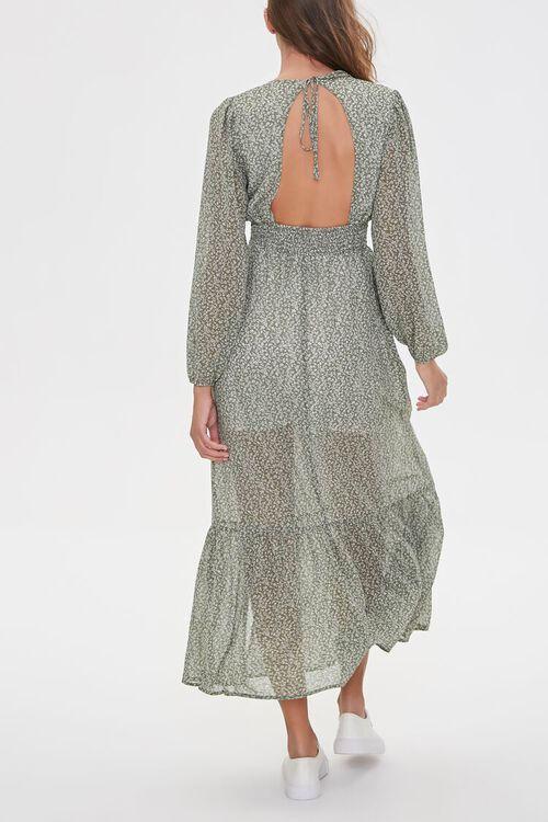 Floral Peasant Maxi Dress, image 4