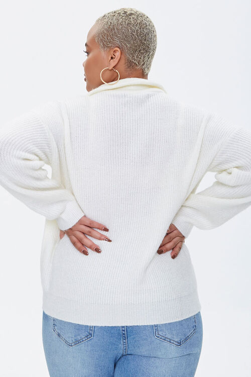 Plus Size Sweater-Knit Pullover, image 3