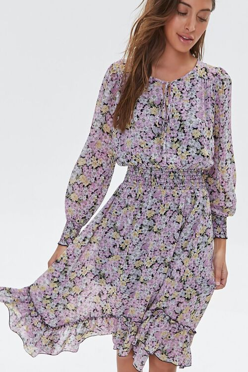 Floral High-Low Dress, image 2