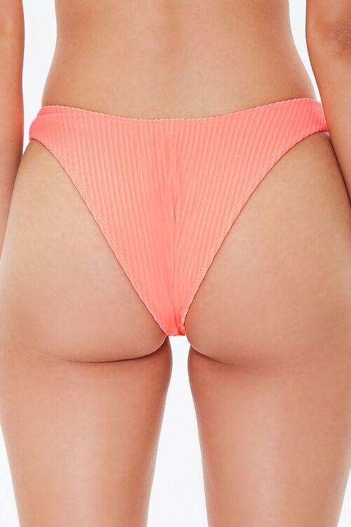 Ribbed High-Cut Bikini Bottoms, image 4