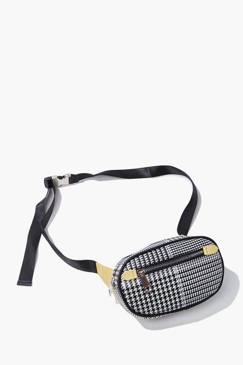 Houndstooth Belt Bag, image 1