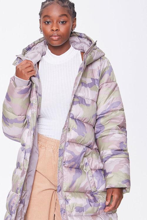 Longline Camo Puffer Jacket, image 4
