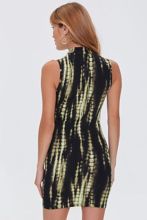 Bleached Bodycon Mini Dress, image 4