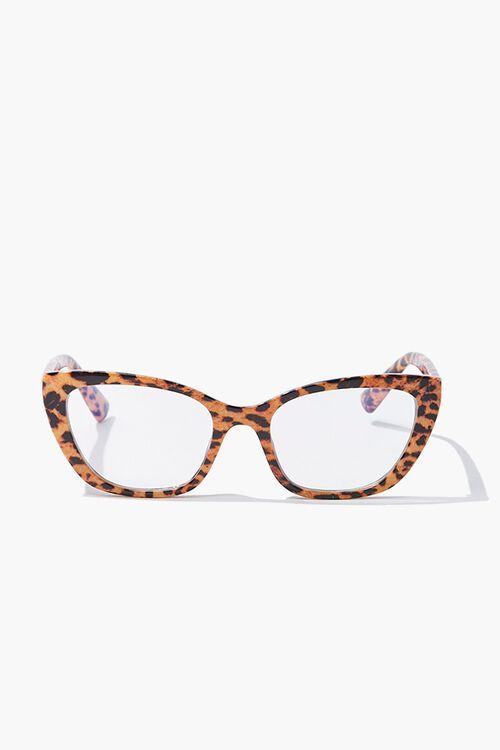 Leopard Print Reader Glasses, image 1