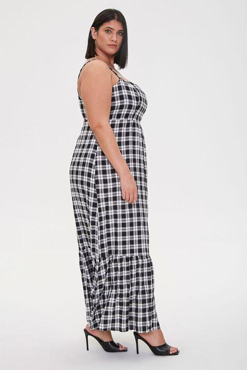 Plus Size Plaid Maxi Dress, image 3