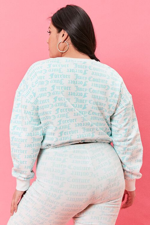 Plus Size Juicy Couture Fleece Pullover, image 3
