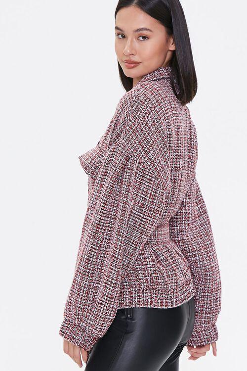Tie-Waist Tweed Jacket, image 2