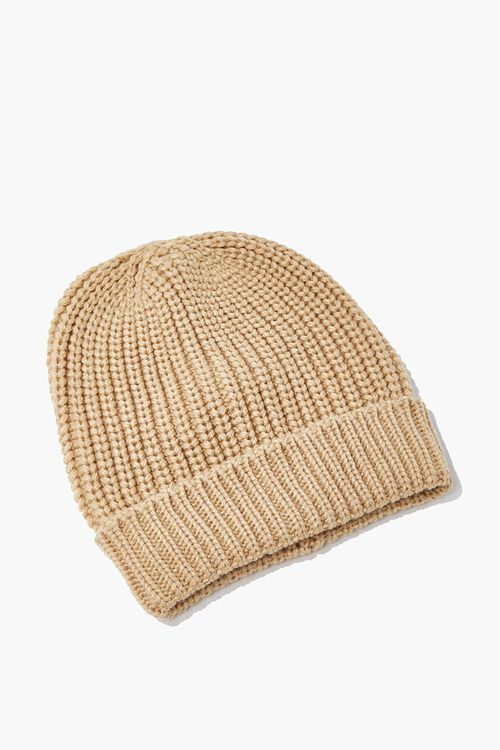 Ribbed Knit Beanie, image 1