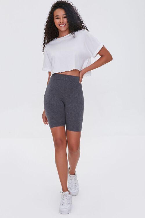 Organically Grown Cotton Biker Shorts, image 5