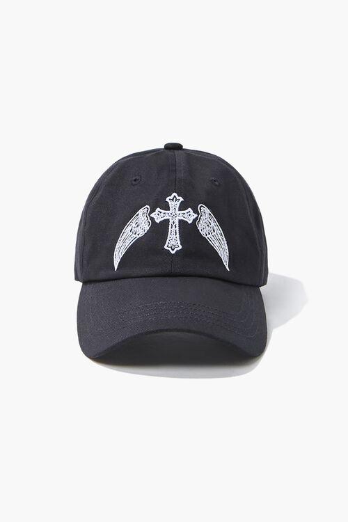 Winged Cross Dad Cap, image 1