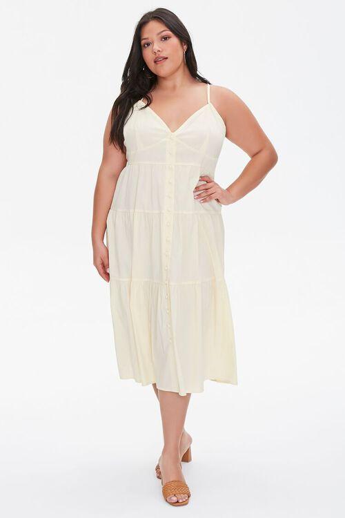 Plus Size Flounce Cami Dress, image 4