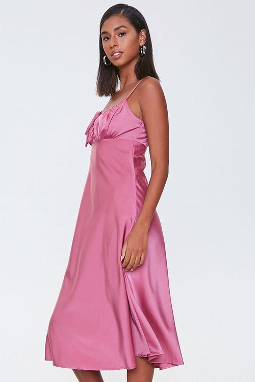 Ruched Satin Dress, image 2
