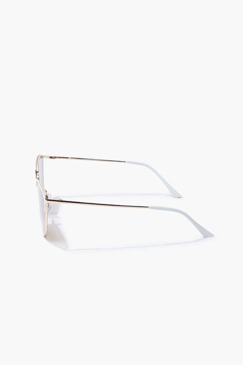 Cat-Eye Metal Sunglasses, image 3
