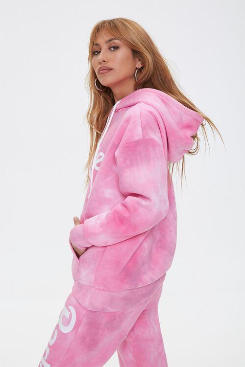 PINK/MULTI Tie-Dye Barbie™ Hoodie, image 3